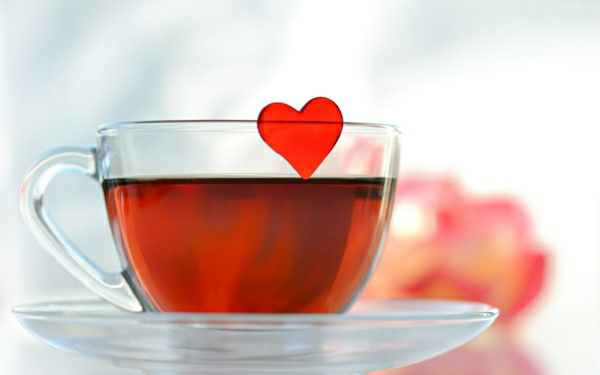 gesund leben tee wirkung tasse