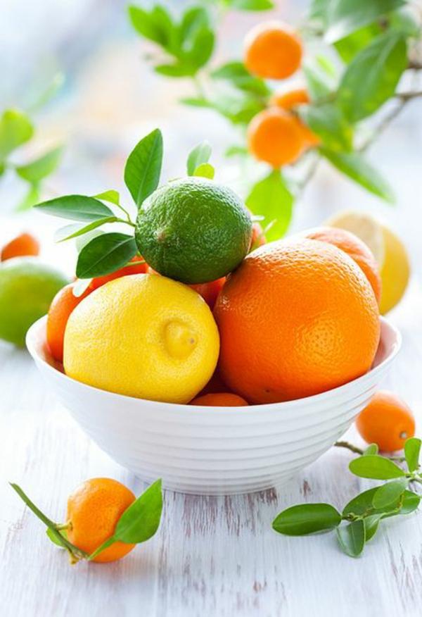 gesunde frühstücksideen früchte essen