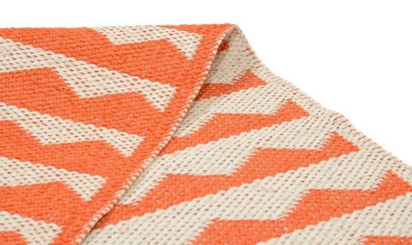 gittan tomato teppich kunststoff  skandinavisch einrichten brita sweden designer teppiche