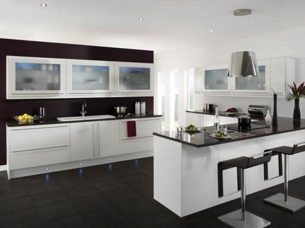 granitfliesen verlegen bodenbelag ideen küche einrichten