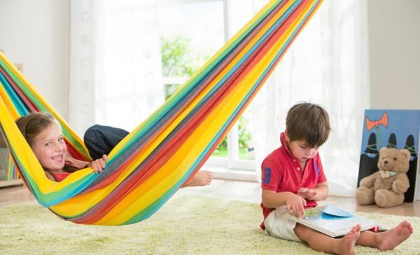 hängematte kaufen kinderzimmer spielen la siesta