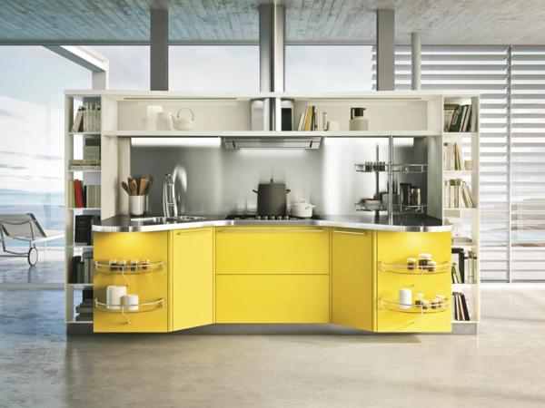 Küchenmodule moderne hängeregale schritte zur perfekten ordnung in der küche