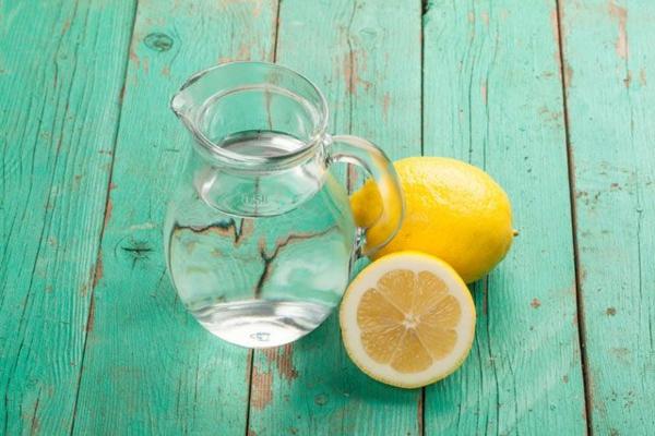 heißes wasser mit zitrone gesundes wasser erfrischende gertänke
