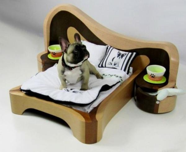 hundebett selber bauen designer ideen