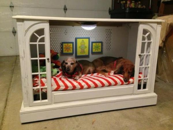 hunde bett selber bauen diy projekte alte möbel