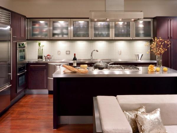 indirekte beleuchtung küche direkte beleichtung kombination