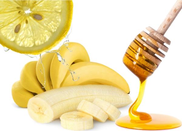 ist honig gesund bananen zitronen gesundheit