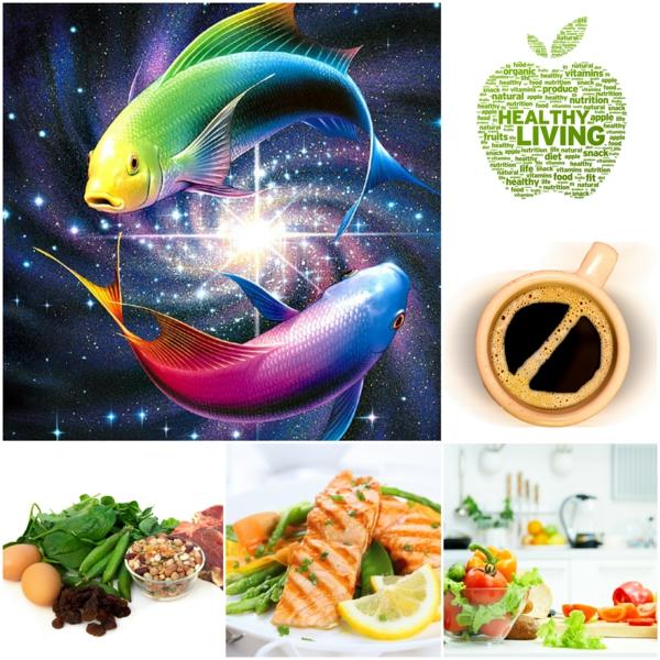 Sternzeichen Fische gesundes essen tipps ideen