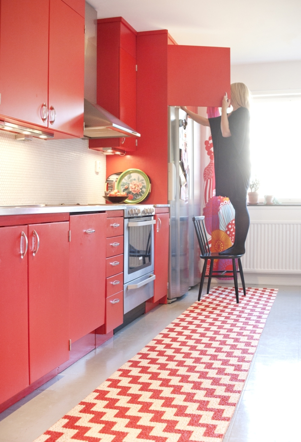 küche läufer teppich kunststoff  brita sweden designer teppiche