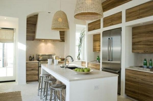 küchendesign ideen moderne küche kücheninsel pendelleuchten