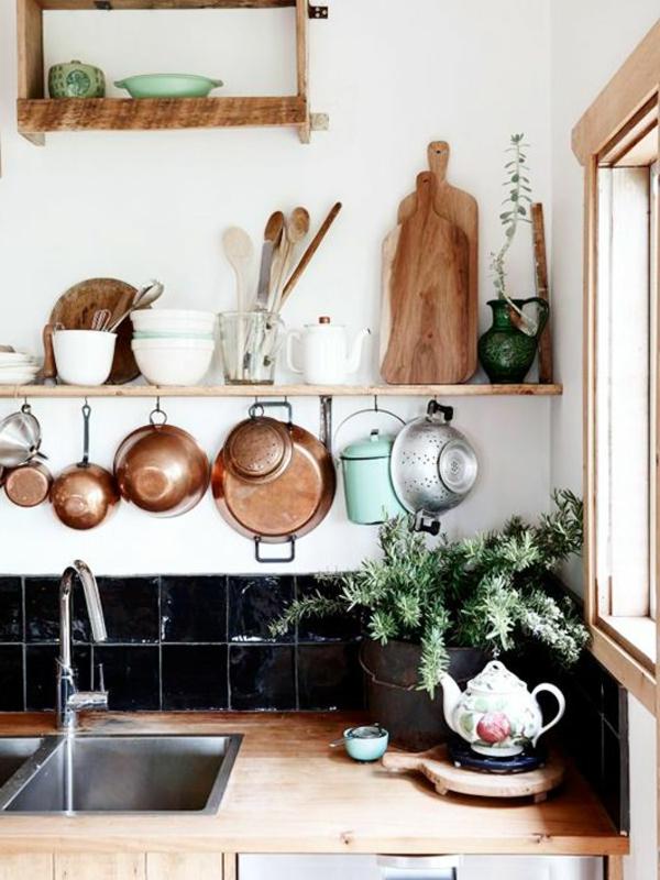 Küchenregale Design Geschirr Ausstellen
