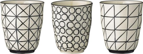 kaffeetasse selber bemalen geometrische figuren