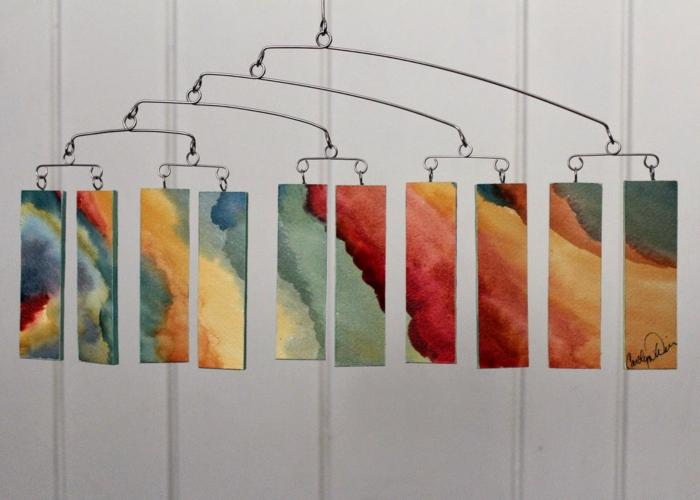 Kinetisches Mobile kinetische kunst oder die bewegung als inspiration