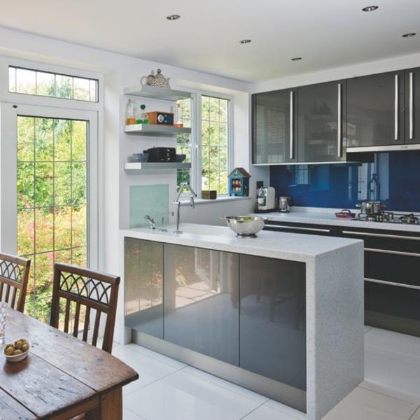 design : kleine küche im wohnzimmer ~ inspirierende bilder von ...