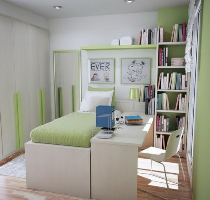 Kleine r ume einrichten n tzliche tipps und tricks - Childrens small bedroom furniture solutions ...