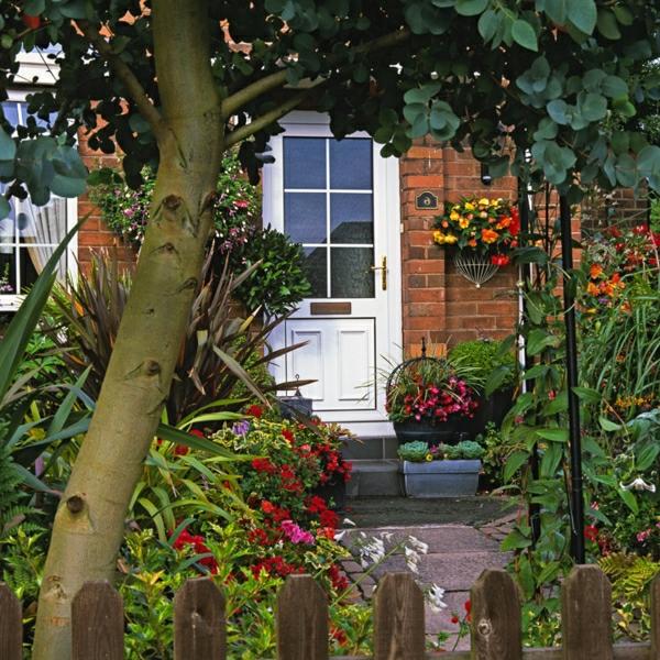 kreative vorgartengestaltung ideen kleinen vorgarten gestalten