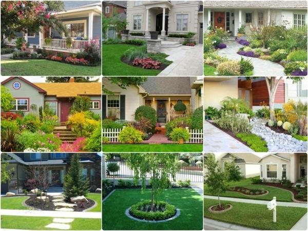 Kleinen vorgarten gestalten 25 inspirierende beispiele for Vorgarten gestalten ideen