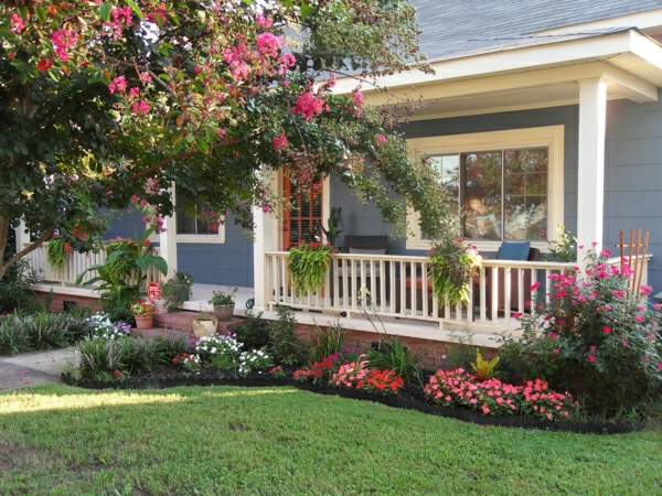 kleinen vorgarten gestalten vorgartengestaltung tolle gestaltungsvorschläge