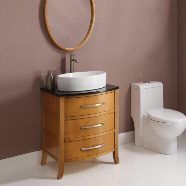 kleines bad funktionell gestalten sch ne interieur l sungen. Black Bedroom Furniture Sets. Home Design Ideas
