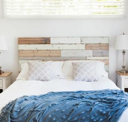 30 erfinderische bettkopfteil ideen f r ein ausgefallenes. Black Bedroom Furniture Sets. Home Design Ideas