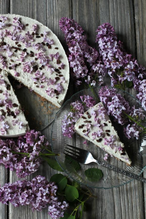 kuchen ohne zucker leichtes rezept flieder