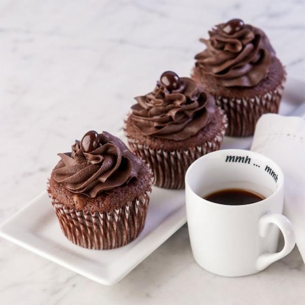 kuchen verzieren schokolade mini kuchen