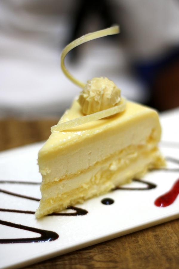 kuchen verzieren weiße schokolade desserts
