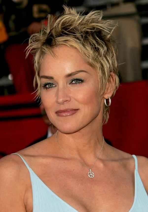 Sharon Stone Frisur Heute