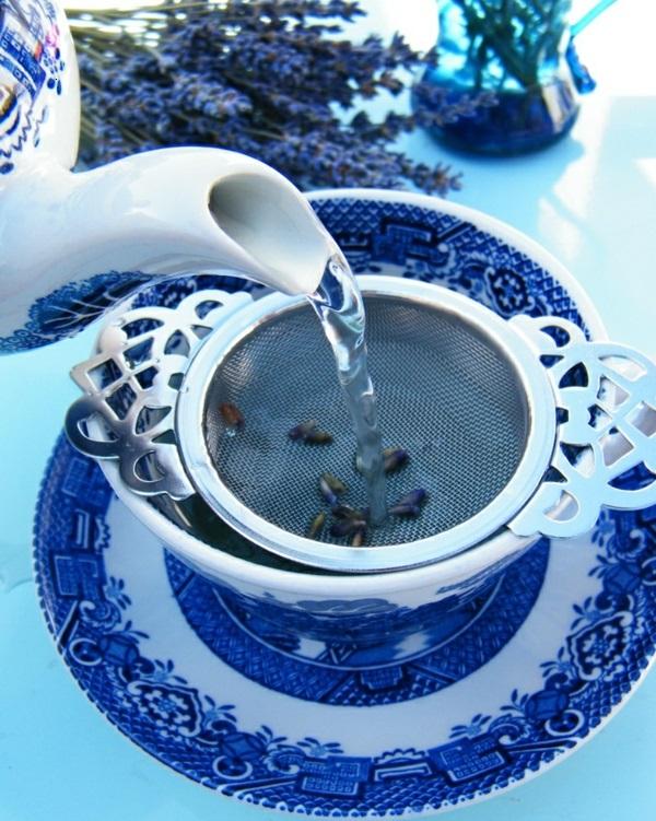 lavendel tee wirkung kräutertee trinken