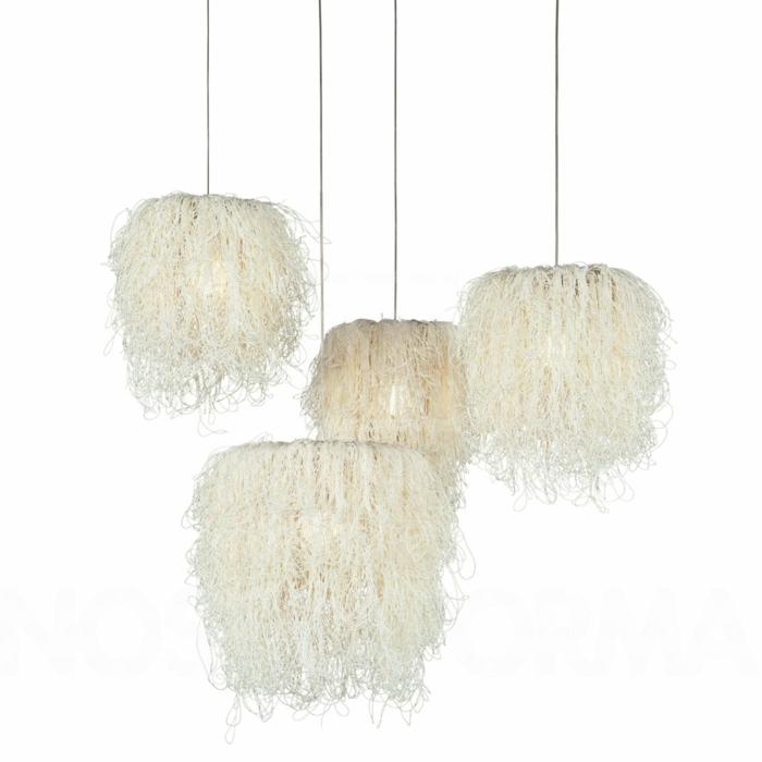 lichtdesigner arturo alvarez design leuchten pendelleuchten caos weiß