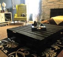 Der Paletten Tisch – Etwas rustikal, aber trotzdem attraktiv