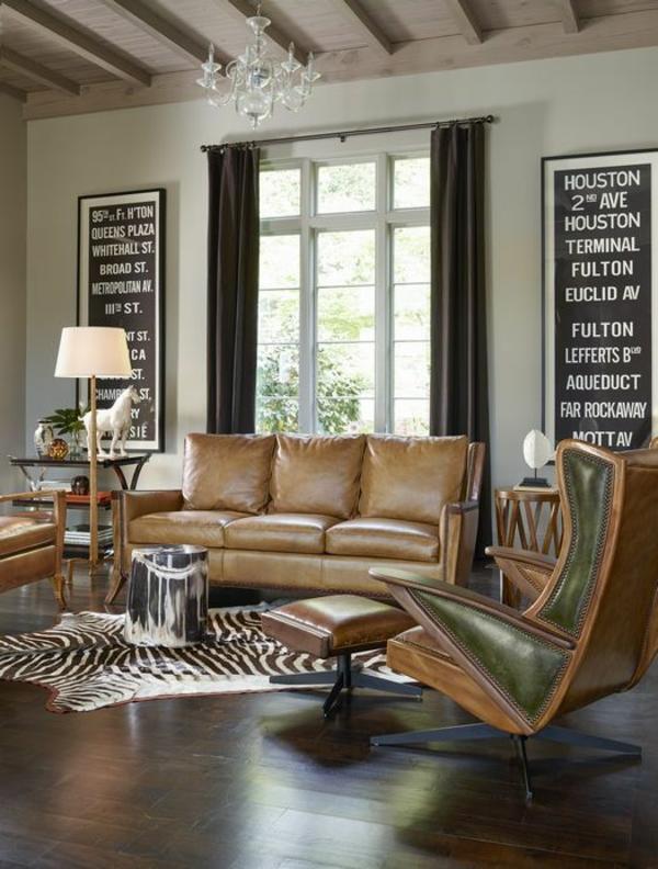 möbel design holländisches sofa leder