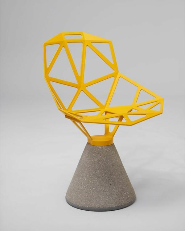 möbeldesigner Konstantin Grcic designer stühle gelb
