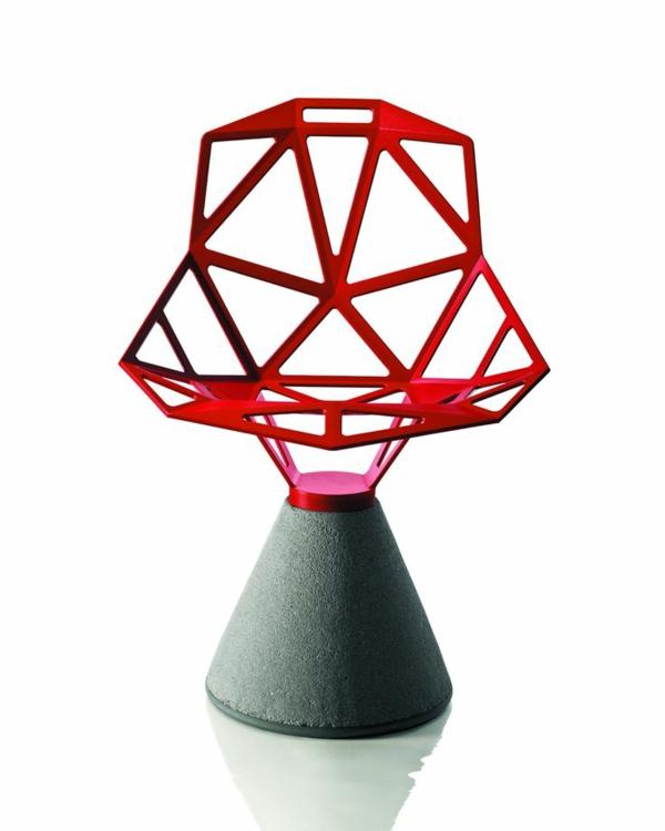 möbeldesigner Konstantin Grcic designer stühle rot