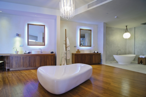 malediven urlaub luxus badezimmer