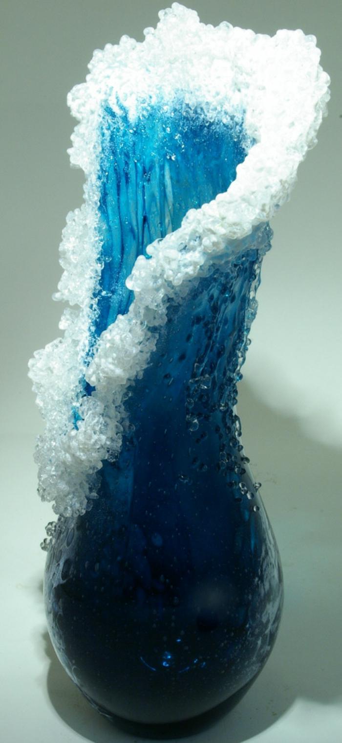 maritime Deko Vasen glas Marsha Blaker Paul DeSomma