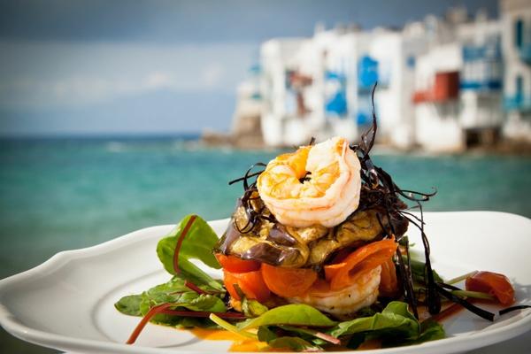 mediterrane diät eingelegte auberginen meeresfrüchte