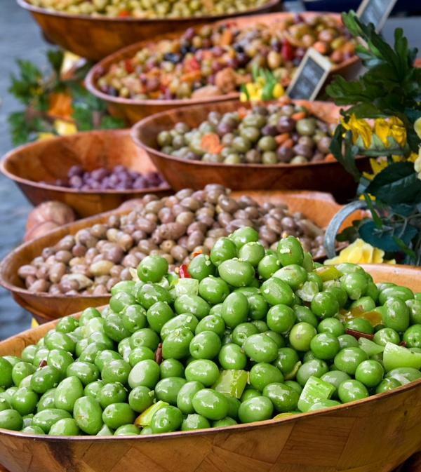 mediterrane diät oliven vielfalt