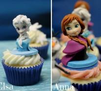Mini Kuchen backen, die echte Kunstwerke sind