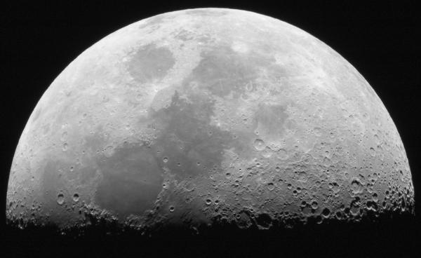 mondphasen planet astronomisches foto