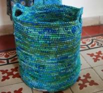 Nachhaltiger Konsum Und Ein Cleveres Recycling Von Plastiktüten