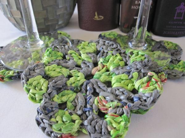 nachhaltiger konsum untersetzer plastiktüten