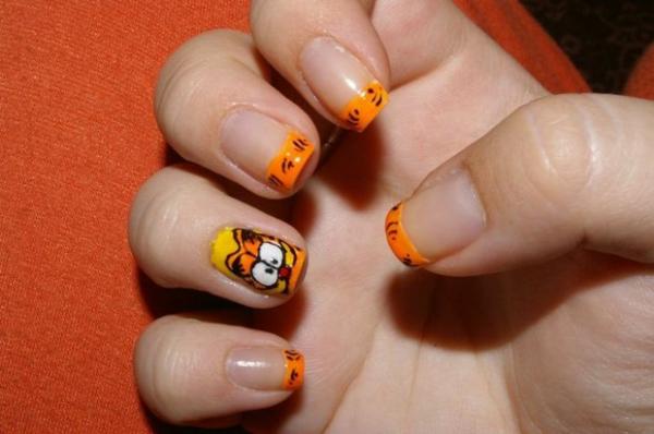 nagellack ideen desislava hadzhiyska Garfield