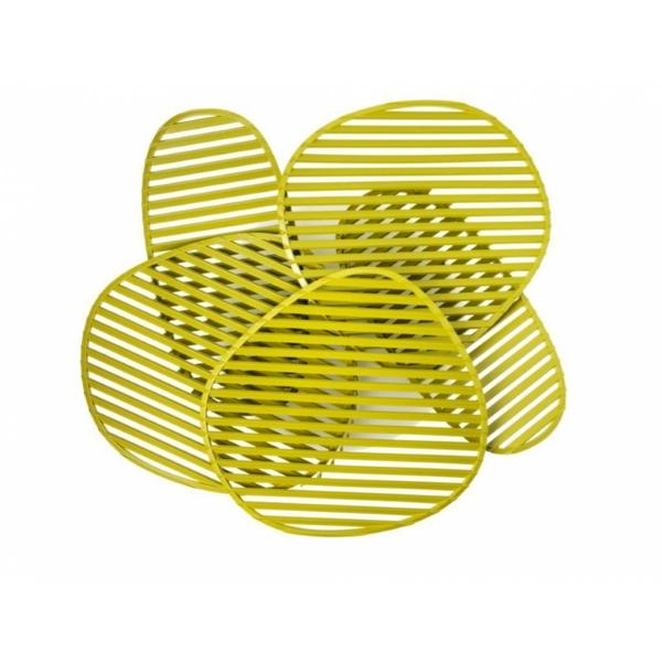 nuage wohnzimmerlampe gelb designer leuchten Philippe Nigro
