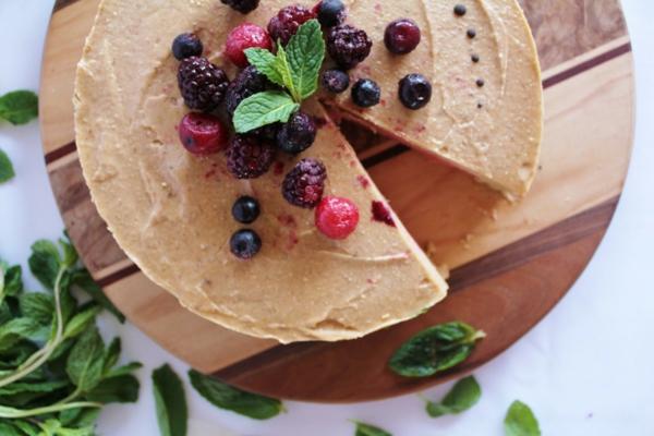 obstkuchen basisch ohne backen früchte stevia