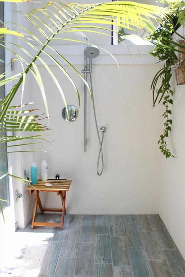 erfrischende outdoor dusche fr ihren garten oder ihre terrasse - Solar Terrassen Dusche