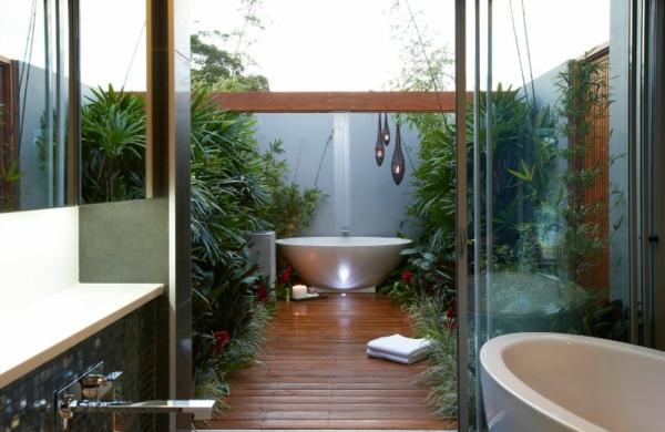 outdoor dusche sommer badezimmer auf der terrasse - Solar Terrassen Dusche