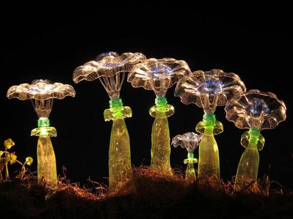 pet flaschen kunst plastikflaschen quallen