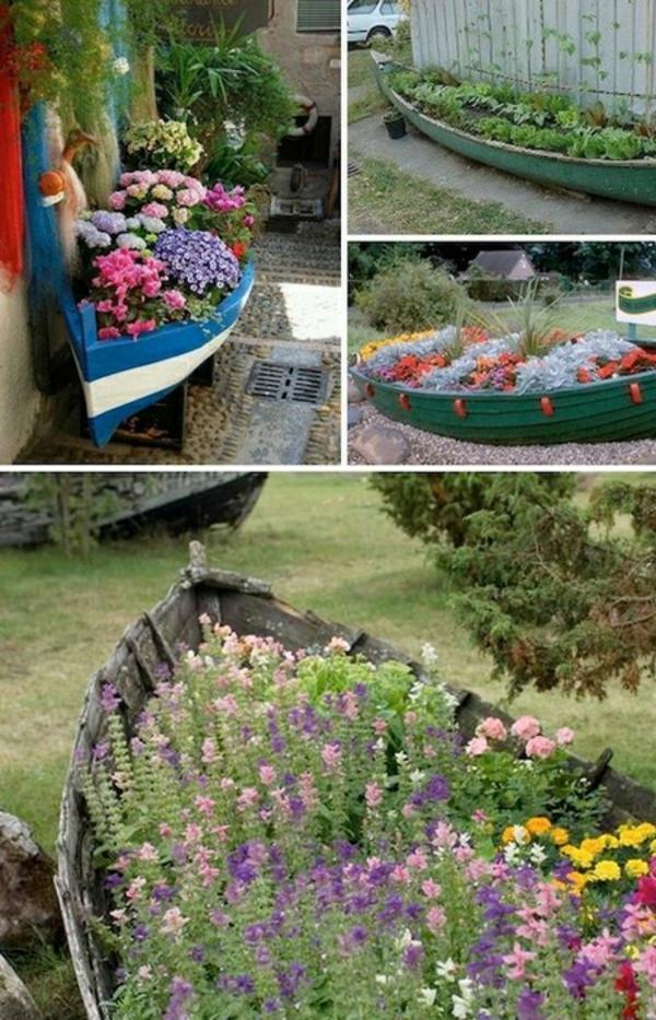 Originelle Pflanztöpfe Aus Gebrauchten Gegenständen Selber Machen Alte Schuhe Bepflanzen Originelle Pflanzgefase Garten