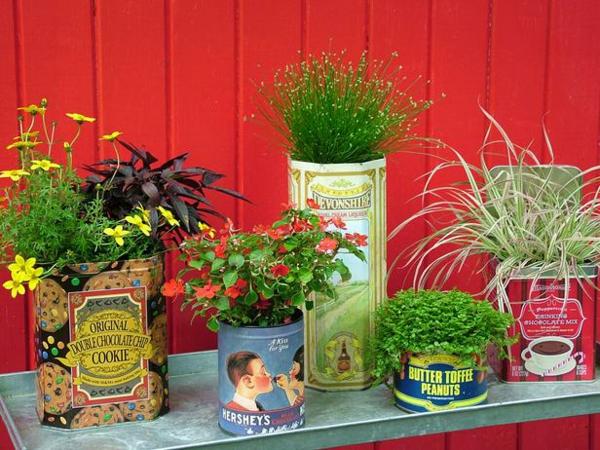 Originelle Pflanztöpfe Aus Gebrauchten Gegenständen Selber Machen Originelle Blumentopfe Selbst Gemacht